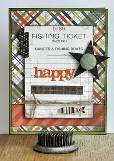 **great card for a guy who loves fishing**