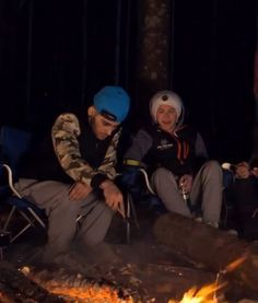 Niall and Zayn. I'd go camping with One Direction.