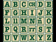 Spanish Alphabet - El Abecedario This has the teacher reading it to the kids. I love it.