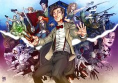 Dr Who Art | Be cool. Be connected. Subscribe to one or more of all these social…
