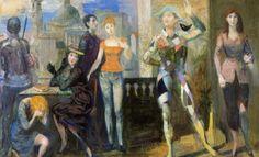 Sette personaggi per un quadro – 1953