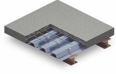 Find Local Deck Builders and Contractors Steel Building Homes, Building A Deck, Concrete Structure, Steel Structure, Deck Framing, Metal Deck, Factory Architecture, Revit, Building Foundation