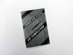 """Ed Templeton - Common Side Effects 48 pg. full color photo zine. Color Laser Prin t9"""" x 6"""" Edition of 400 Deadbeat Club"""