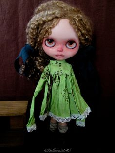 Pre Order Blythe doll dress / 1/6 size doll / by Dakawaiidolls, $43.00