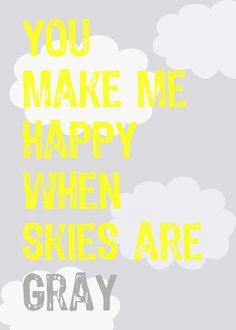Gray Skies 5x7 print by pinkpuppypaperco on Etsy, $10.00
