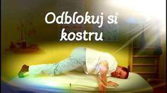 Odblokování křížokyčelního kloubu (SI) vkleče sám na sobě (www.hladinakl... Body Fitness, Health Fitness, Acupressure Points, Taekwondo, Pranayama, Reiki, Detox, Exercise, Workout