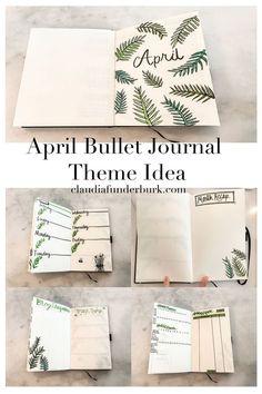 April Bullet Journal Theme Idea