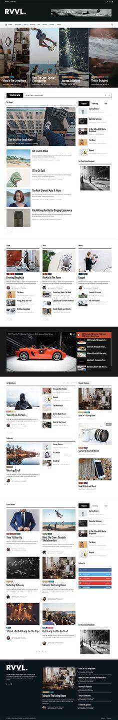 Onfleek - AMP Ready & Responsive Magazine Theme