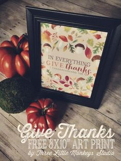 30 FREE Thanksgiving Printables to Decorate for Fall