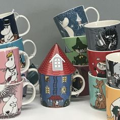 We have recently stocked up on the more popular designs from the Moomin collection of mugs from Arabia of Finland. If you are still looking for some designs to add to your collection, this is the time to snap them up! Moomin Mugs, Kitchenware, Tableware, Mugs For Sale, Ceramic Mugs, Finland, Your Favorite, Objects, Popular
