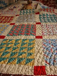 Vintage Quilt by