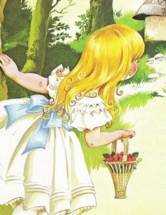 Goldilocks and the Three Bears from Deans A Book of Fairy Tales. Illustrated by Janet & Anne Grahame Johnstone. 1977.