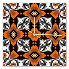 Clock Samba, Sunday, Clock, Retro, Wall, Watch, Domingo, Clocks, Retro Illustration