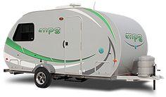 Waaa waaa waa, I want one of these lightweight campers.  I gotta find one.