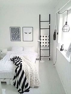 This All White Room Looks So Peaceful And Cozybright Rooms Tend Mesmerizing Monochrome Bedroom Design Ideas Inspiration