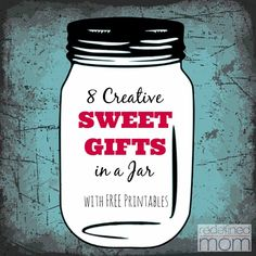 Not a baker? Want to look like one? Check out these 8 Sweet Food Gifts in Mason Jar! A SWEET gift to give to family and friends and no baking required!!