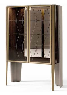 Alto Lifestyle offers you unique home furnishings from top designer brands in Italy Marble Furniture, Furniture Design, Door Displays, Plywood Panels, Bronze Mirror, Door Detail, Handmade Furniture, Glass Shelves, Glass Door