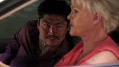 "Burn Notice 5x02 ""Bloodlines"" - Madeline Westen (Sharon Gless) & Takeda (Brian Tee)"