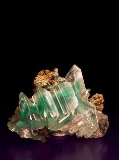 ;^) Cerussite with Malachite Inclusions ~ Namibia / Mineral Friends <3