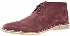 Red Tape Gobi Suede Mens Marron Lace Up Desert Boots Mens - £25.99