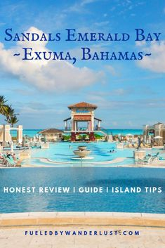 Bahamas Honeymoon, Honeymoon Tips, Honeymoon Destinations, Bahamas Trip, Dream Vacations, Vacation Trips, Emerald Bay Bahamas, Sandals Emerald Bay, All Inclusive Resorts