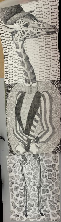 student exquisite corpse exercise, from Tumbler