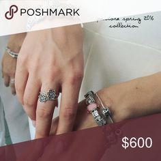 Spotted while shopping on Poshmark: 💖LOTS OF PANDORA 2016 SPRING COLLECTION 👸🏼! #poshmark #fashion #shopping #style #Pandora #Jewelry