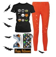 """""""TODAY'S HALLOWEEN, HAPPY HALLOWEEN!!!!!"""" by peace35713 ❤ liked on Polyvore featuring мода, Versus и Halloween2015"""