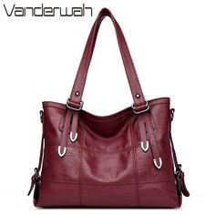 HOT women bag Lady Top-handle bags handbags women famous brands female  Stitching casual Big shoulder bag Soft Tote for girls SAC c8289a41f2