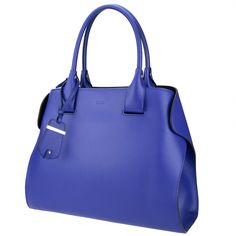 Tod's cape bag in indigo blue, from shop.wunderl.com