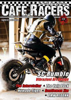 #VAD Vibrazioni Art Design Ducati SCRumble / #Pirelli  Ph. Callo Albanese - Rider A. Cecotti. 🎯