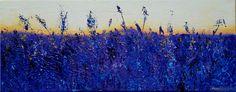 Lavender Sea by Zuzana Lambertova (acrylic on canvas)