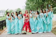 Happy Traditional Tuesday! Indian weddings are one of the most inspirational nuptials out there. The culture is so rich and beautiful we can't get enough.You can expect to see more cultural wedding inspiration on the blog. Today, we have compiled a few of our favorite bridesmaid sarees (or saris) out there. Swoon away! Pink Bridesmaids …