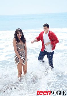 Cory Monteith and Lea Michele for Teen Vogue Magazine - Credit: Teen Vogue
