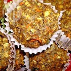 Muffins au son et au lin @ qc.allrecipes.ca