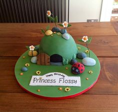 Ben and Holly's Little Kingdom: Gaston's Cave cake - Cake by Cakes Honor Plate