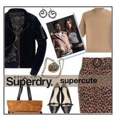 """The Cover Up – Jackets by Superdry: Contest Entry"" by kleinwillwin ❤ liked on Polyvore featuring Topshop, Superdry, Theory, 3.1 Phillip Lim and Sweet Romance"