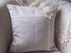 A handmade cushion cover