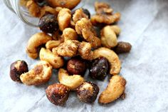 Sweet and Spicy Curried Nuts