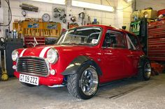 Motoriginal • This is the Z-Cars Yamaha R1 powered Mini Cooper. ...