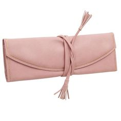 Corinne Jewelry Roll in Pink at Joss & Main