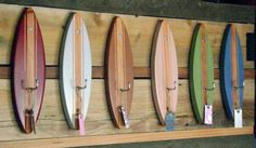 "Surf Hooks (set of 6) - for your friend ""the surfer."""