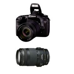 Canon EOS 7D CMOS Digital SLR Camera with 18-135mm IS Zoom Lens plus EF 70-300mm IS USM Lens by Canon. $2099.00. With a host of brand new features designed to enhance every facet of the photographic process, from still images to video, the new EOS 7D represents a whole new class of camera. Made to be the tool of choice for serious photographers and semi-professionals, the EOS 7D features an all-new 18.0-megapixel APS-C size CMOS sensor and Dual DIGIC 4 image processo...