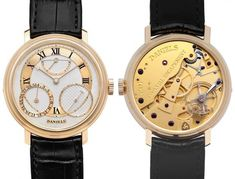 """Daniels London by Roger Smith 35th anniversary watch: 35th Anniversary of the co-axial escapement. Limited to 35 pieces; made entirely of techniques found in Daniels' masterwork text """"Watchmaking"""""""