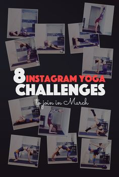 8 Instagram Yoga Challenges to Join in March. Deepen your yoga practice and challenge your inner yogi. Breathe, meditate, enjoy.