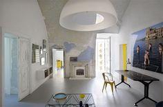 Living room at the Capri Suite designed by Giuliano Andrea dell'Uva