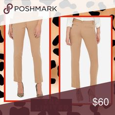 🆕The Limited Classic Pencil Pants Tan Classic Fit Pencil Pants.. Sits Low on Waist, Straight Leg, Thigh, Slim Leg Opening Ankle Fit. Two Front Slant Pockets, Two Rear Hidden Pocket The Limited Pants Ankle & Cropped