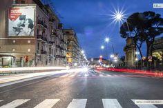 Vodafone  Napoli Stadio San Paolo pubblicità maxiaffissione