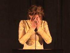 Jlaw flubs speech so funny love her