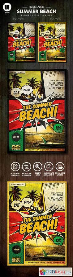 The Summer Beach Comic Flyer 11270101